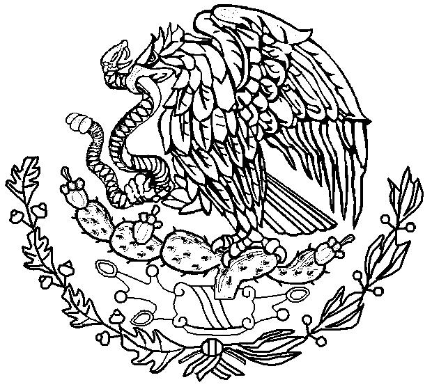 Escudo Nacional Dibujo Para Colorear