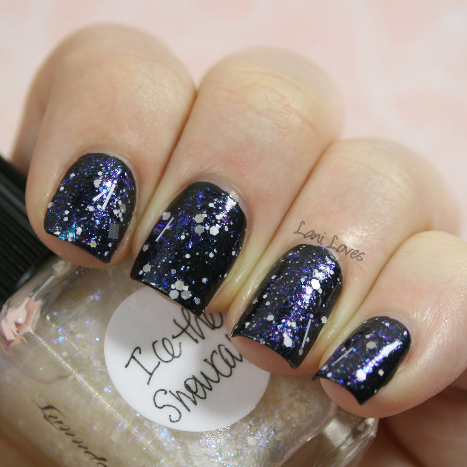 Lynnderella Ice the Snowcake nail polish swatch