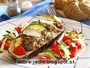Plnený baklažán - recept