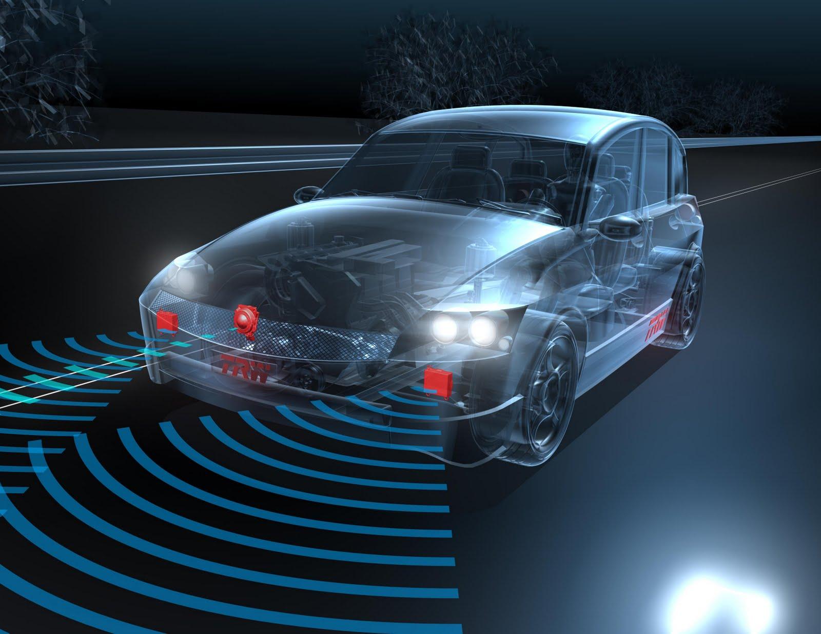 voiture du futur trw rend l 39 assistance la conduite plus abordable. Black Bedroom Furniture Sets. Home Design Ideas