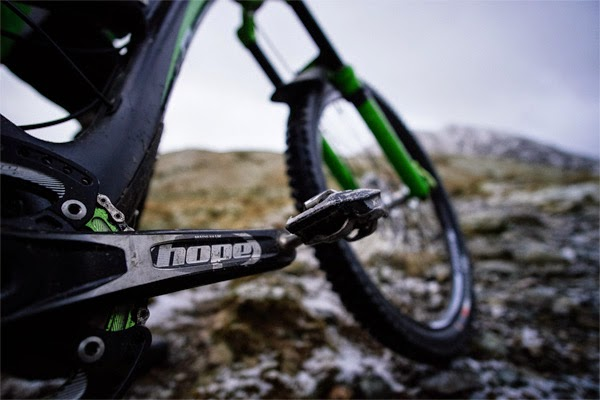 Hope Cranks: Designed, Tested, Manufactured