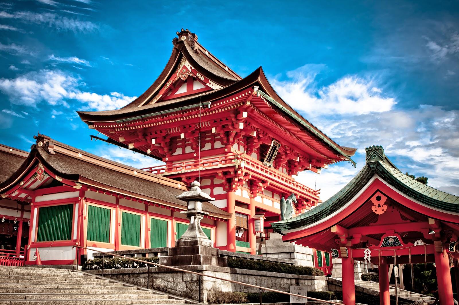 Templos y santuarios en Japón