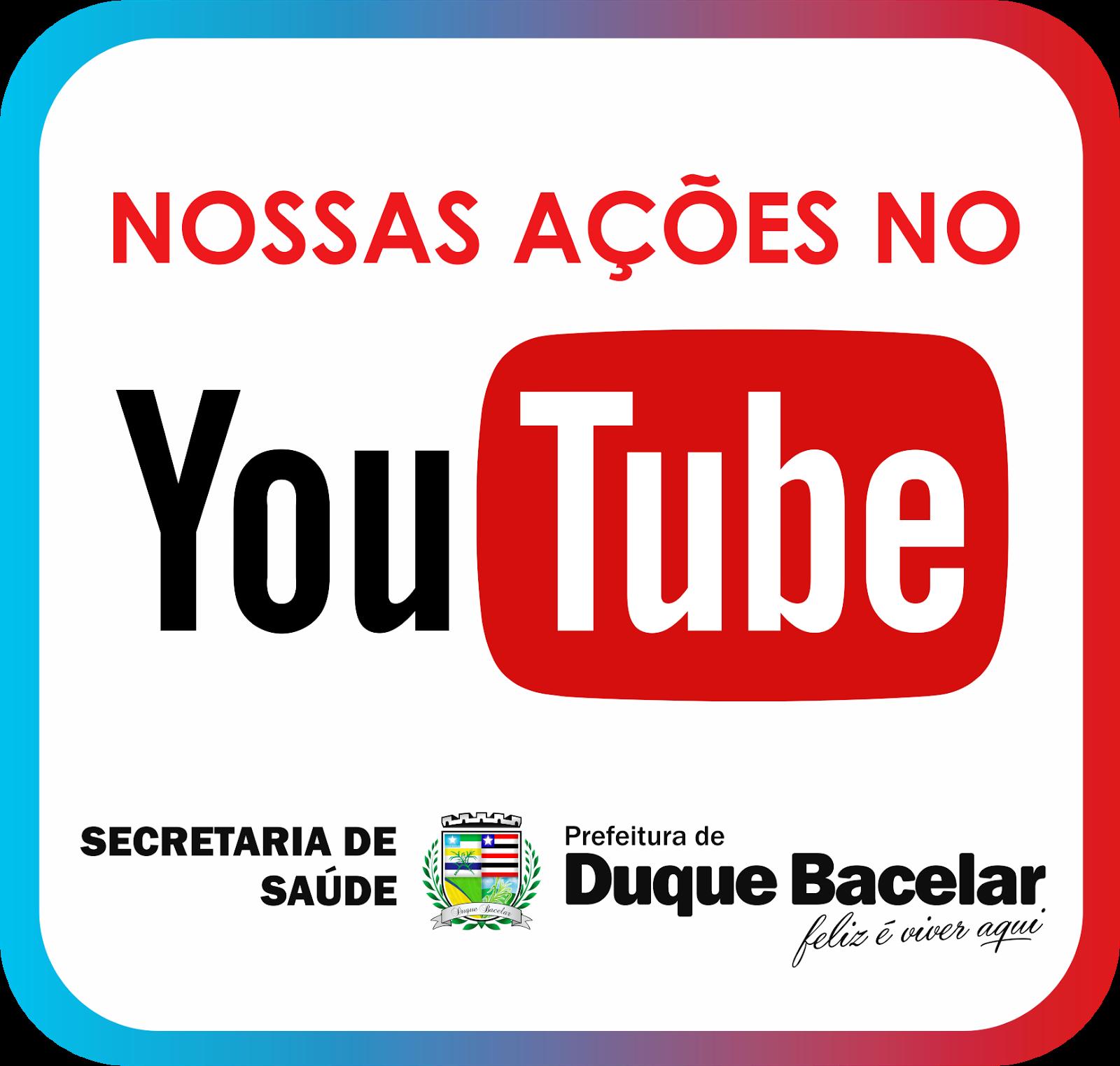 NOSSAS AÇÕES NO YOUTUBE