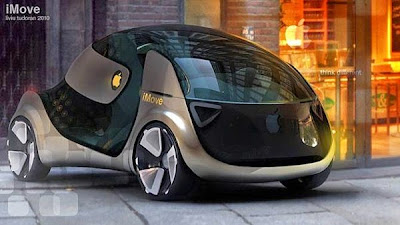 Apple's Self Driving Concept Electric Car