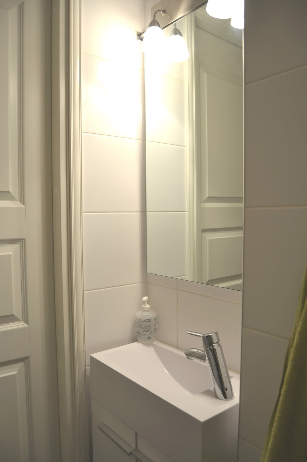 Rintamamiestalon elämää Vessan ja kylpyhuoneen remontti 1