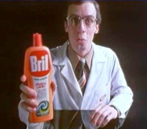 Propaganda do Bril da Bombril estrelado pelo ator Carlos Moreno em 1977.