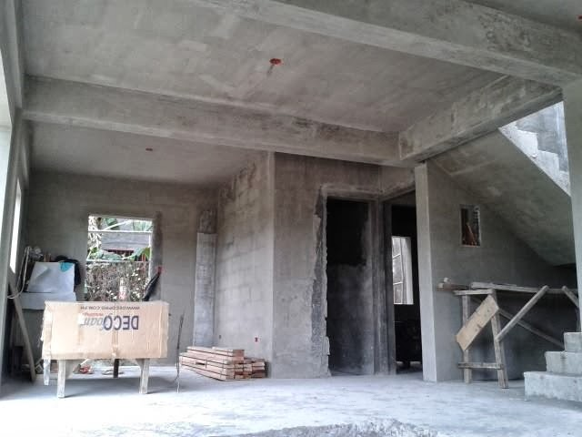 The grove subdivision house construction project in for House garage design philippines