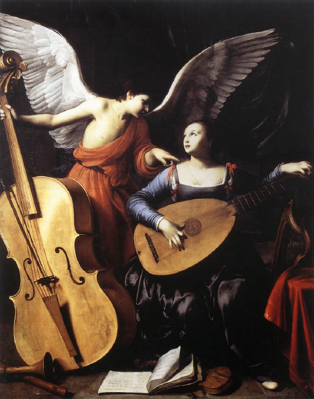 today is the day of st cecilia patron saint of music she was a ...
