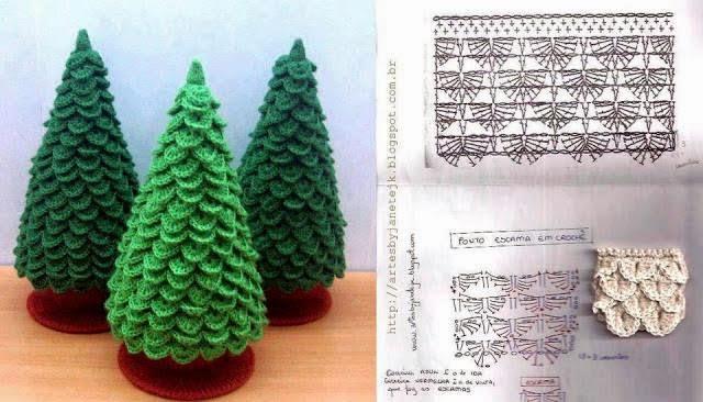 Canal Crochet Arbol Navidad Ganchillo - Navidad-ganchillo