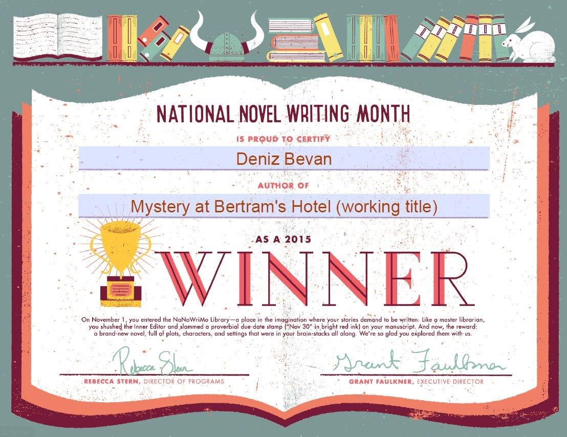 NaNoWriMo 2015