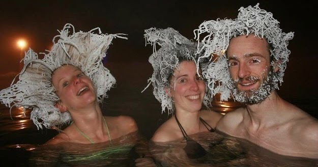 It's So Cold In Canada, This Can Actually Happen If Your Hair Gets Wet
