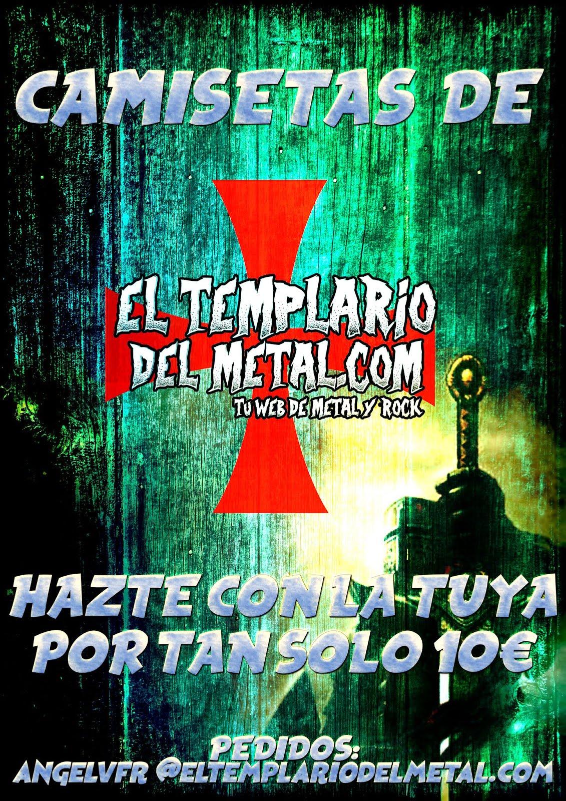 Nuestras Camisetas El Templario del Metal
