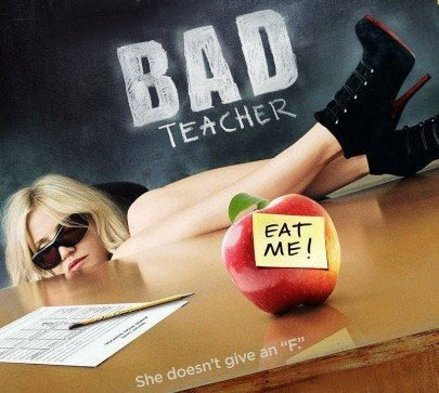 cameron diaz bad teacher poster. cameron diaz bad teacher