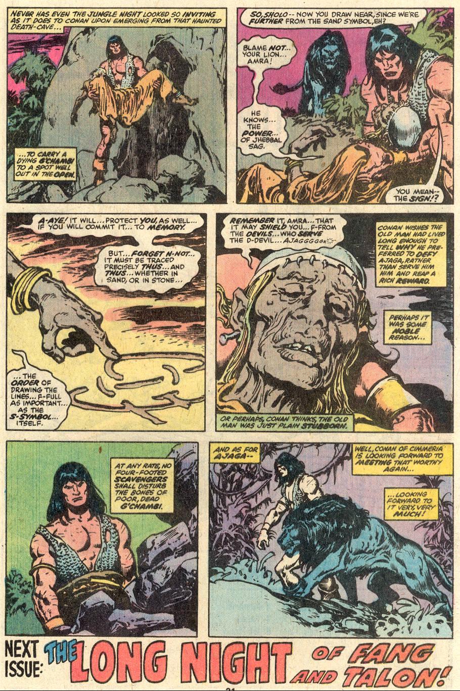 Conan the Barbarian (1970) Issue #95 #107 - English 18