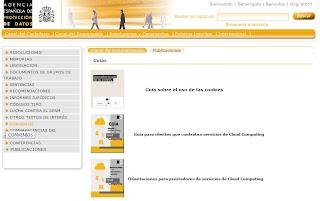 Nuevas guías de la Agencia Española de Protección de Datos