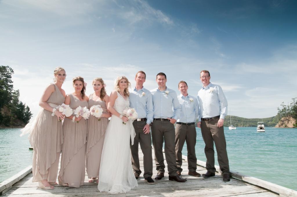 Mansion House Kawau Island Wedding