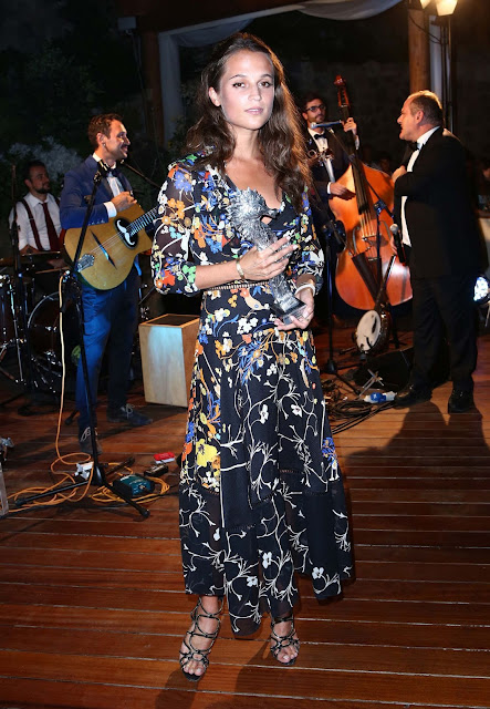 Actress, Dancer @ Alicia Vikander - 2015 Ischia Global Film & Music Festival