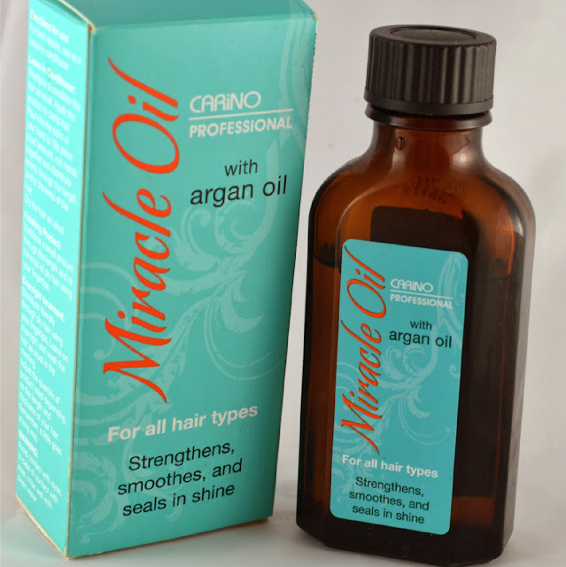Aldi - Hair oil - Miracle oil - carino professional - argan oil - review