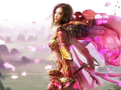 the-fighter-in-pink-outfit-amazing-fantasy-desktop-background