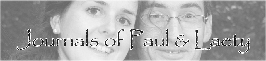 Journals of Paul and Laety