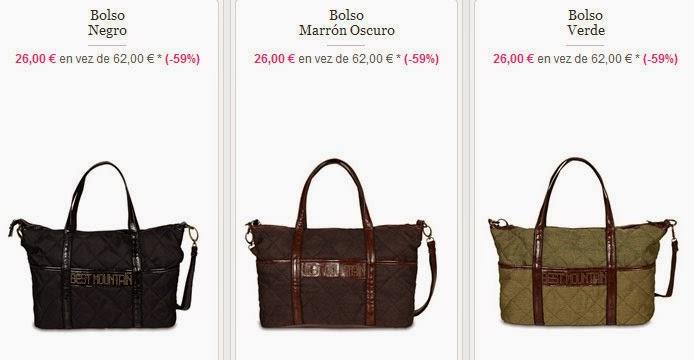 Tres modelos de bolsos de Best Mountain a un PVP de 26 €