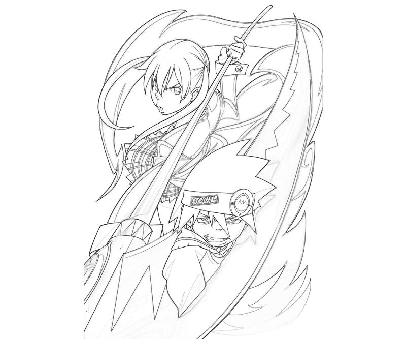 soul-eater-maka-albarn-soul-eater-coloring-pages