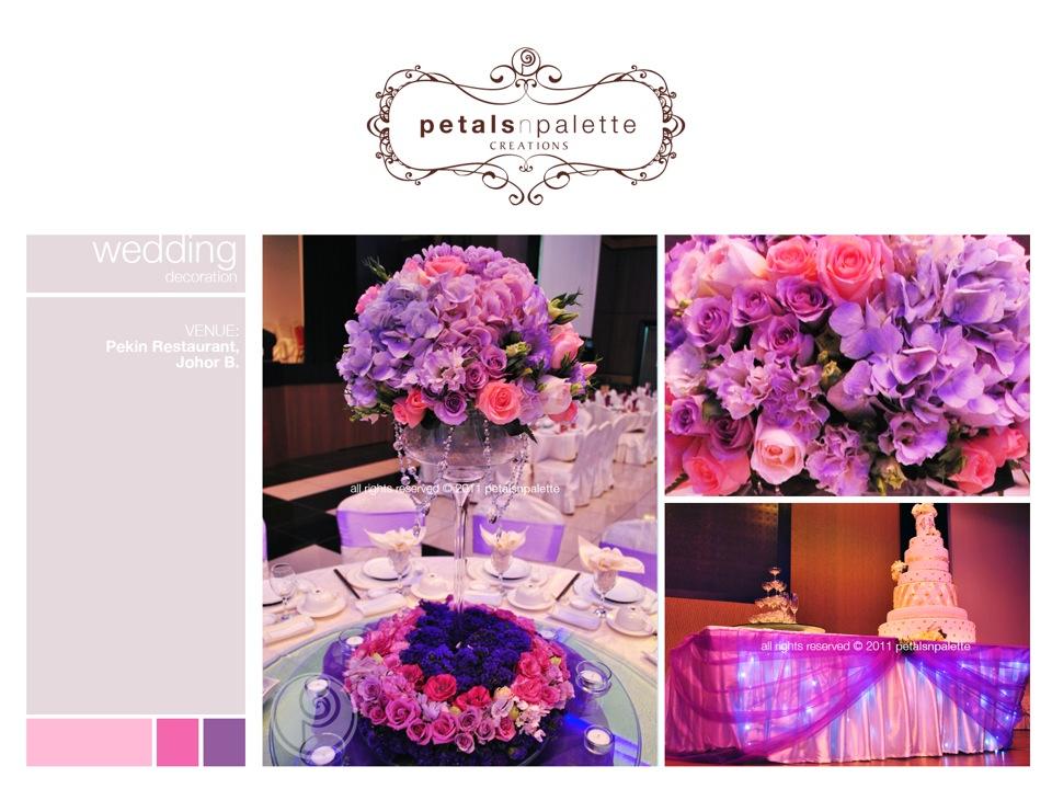 Wedding event decoration wedding decoration malaysia floral wedding decor centerpiece cake champagne table decor junglespirit Choice Image