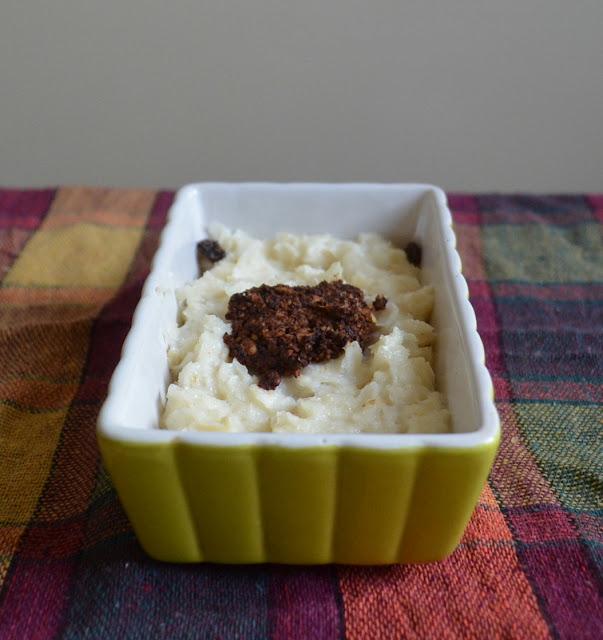 zapiekanka ryżowa z czekoladą