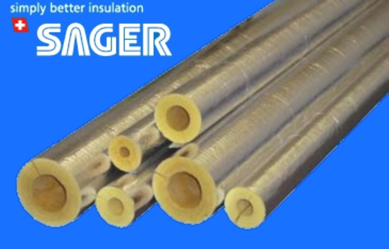 The main areas one would use foil faced glass wool products would be for heating pipes in commercial buildings boiler rooms and steam pipes.  sc 1 st  Pipe Insulation Blog & Sager Foil Faced Fibreglass Pipe Insulation