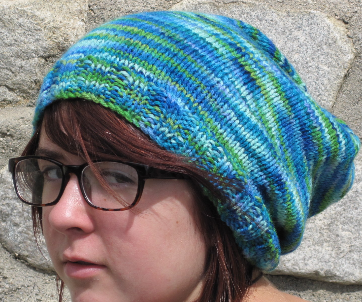 Knitting Pattern Free Slouchy Hat : Just a Stitch Away: My Favorite Free Patterns: Hats to ...