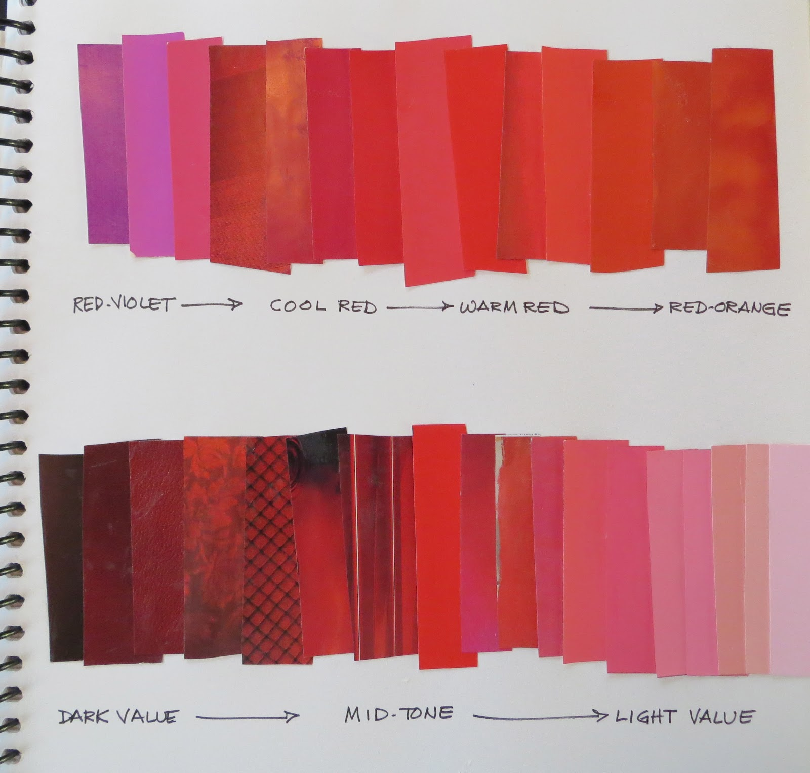 The Painted Prism: RED: 5 SKETCHBOOK EXERCISES & 5 COLOR STUDIES To Try