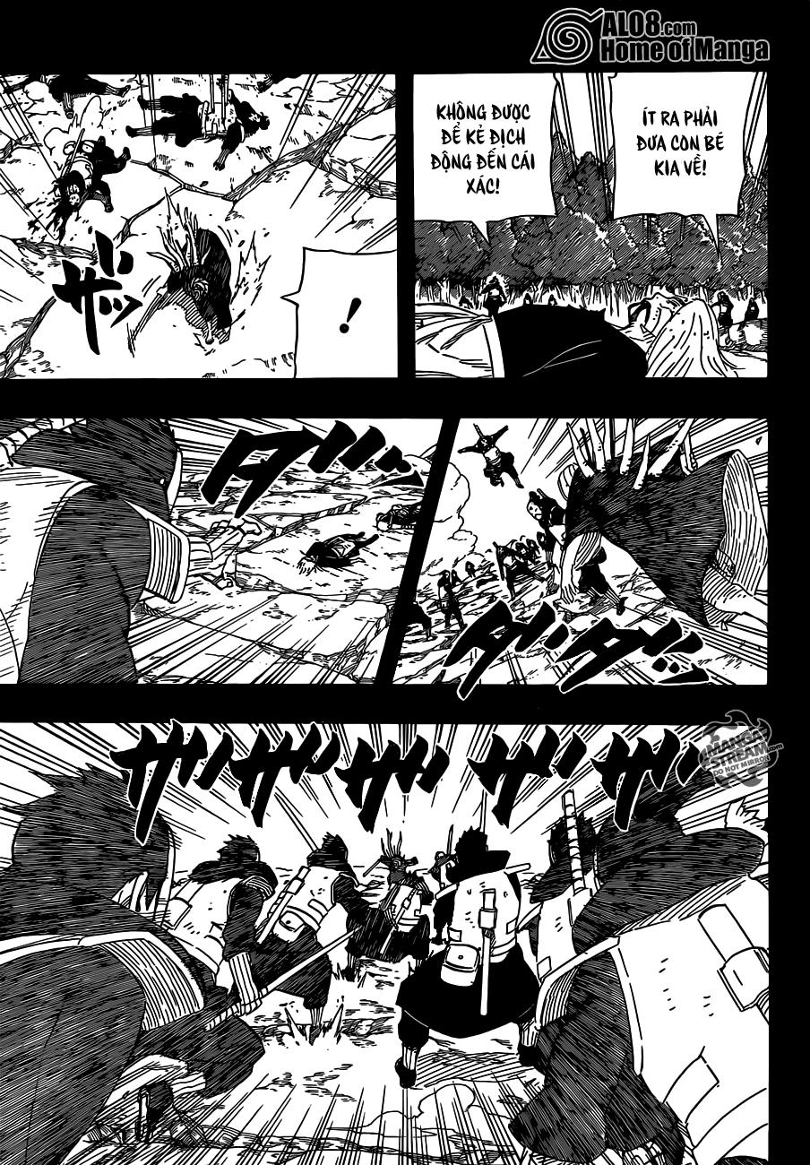 Naruto chap 605 Trang 11 - Mangak.info
