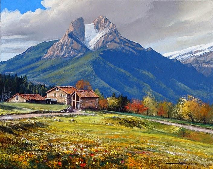 Arte cristina faleroni - Pintores en lleida ...
