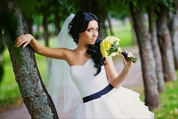 букет невесты из гвоздики