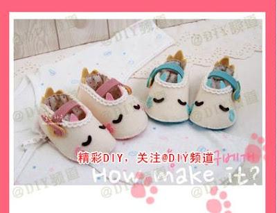 Sapatinhos de bebê para lembrancinhas