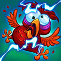 Bird Zapper! App iTunes App Icon Logo By Namco Networks America Inc. Games - FreeApps.ws