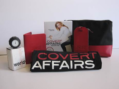 COMPLETED : Enter the SpoilerTV Covert Affairs Jet Setter Pack Giveaway