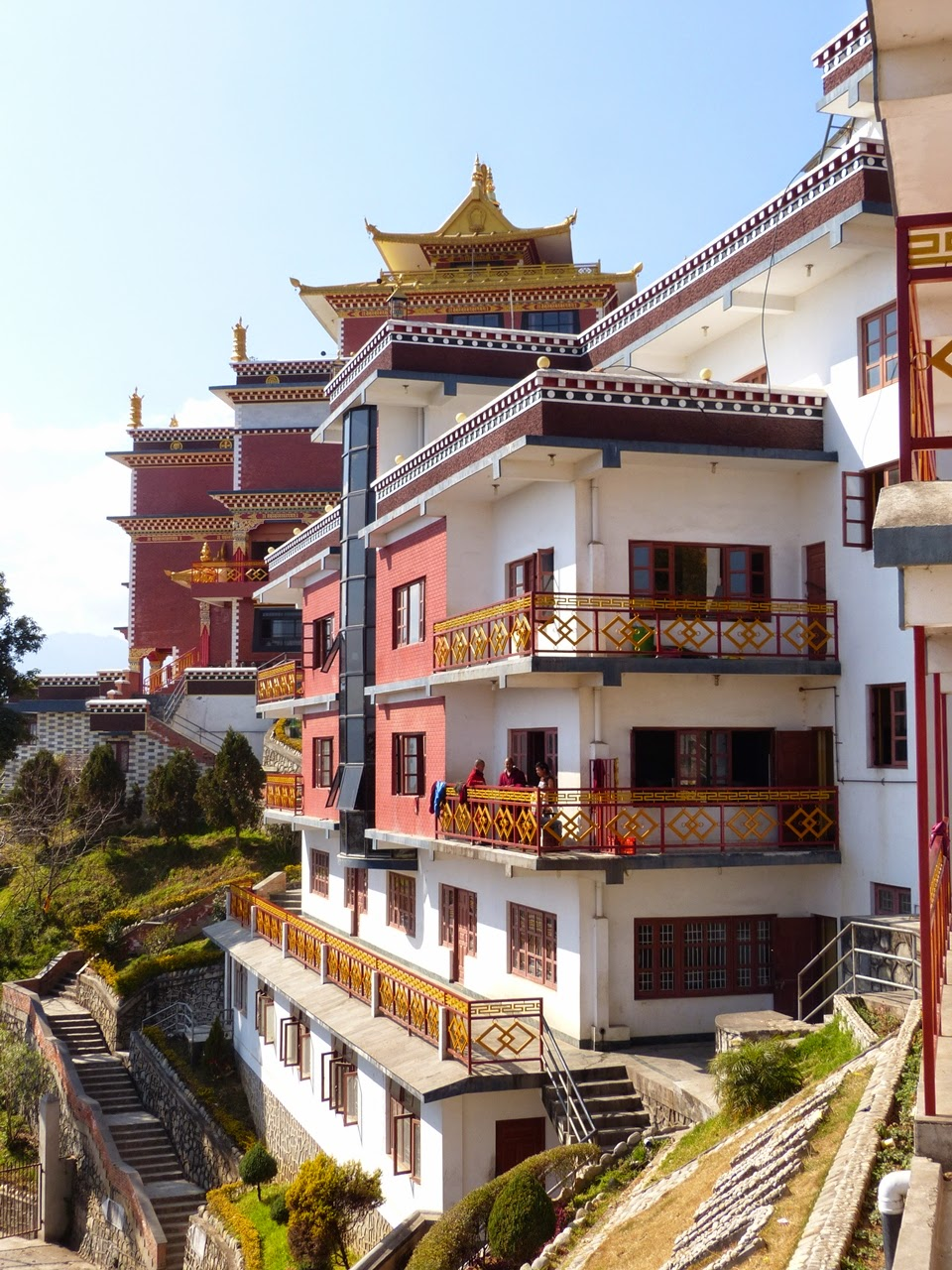 Tibetan Buddhist monastery at Namobuddha, Nepal