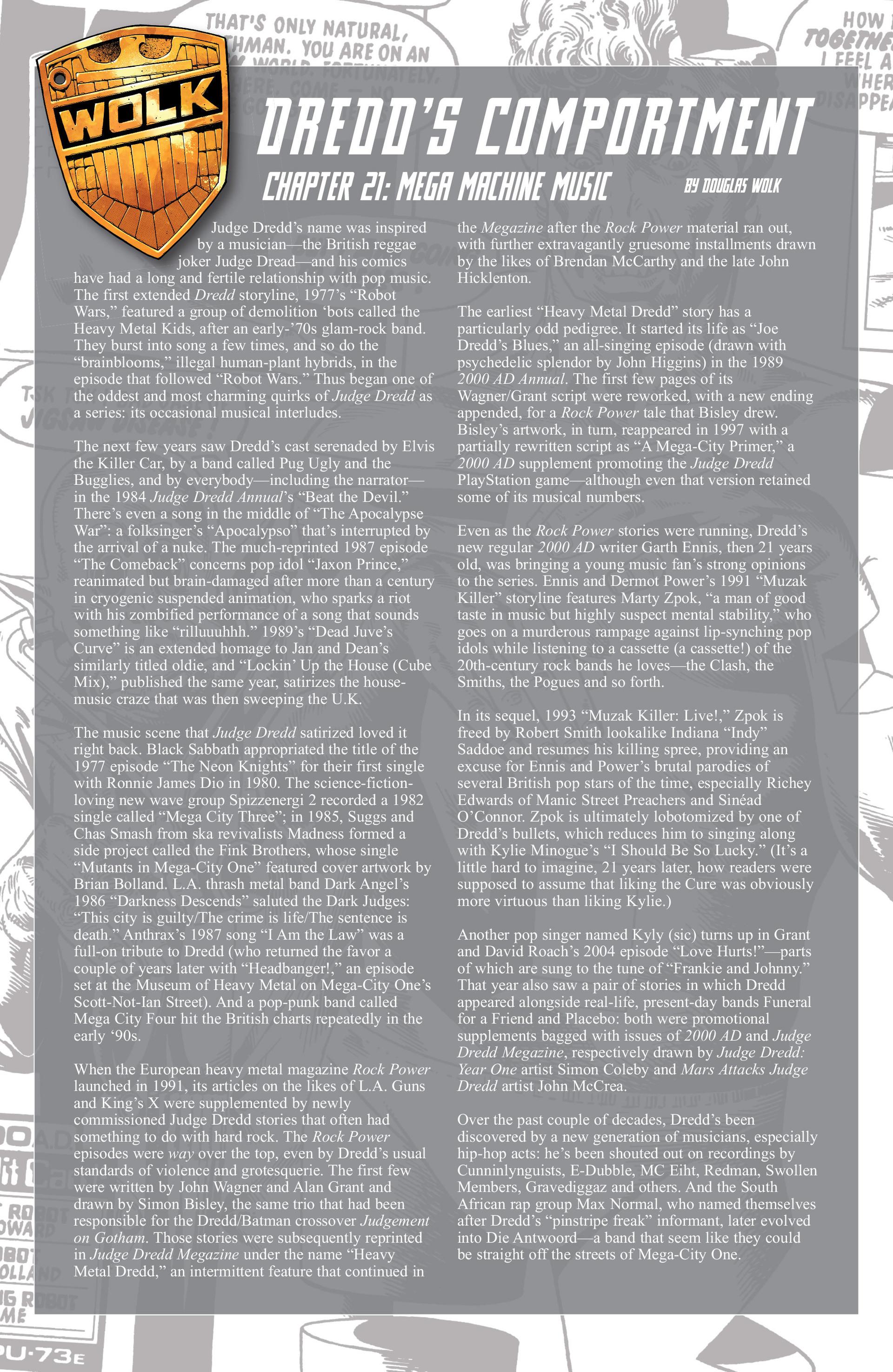 Read online Judge Dredd (2012) comic -  Issue #21 - 23