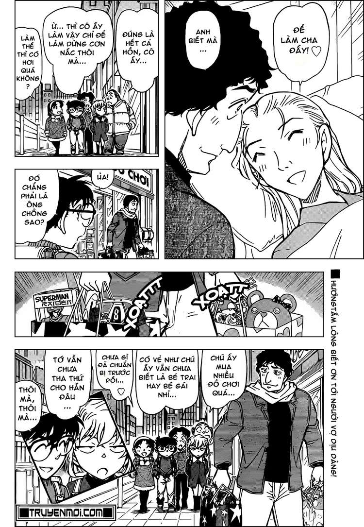 Detective Conan - Thám Tử Lừng Danh Conan chap 803 page 16 - IZTruyenTranh.com