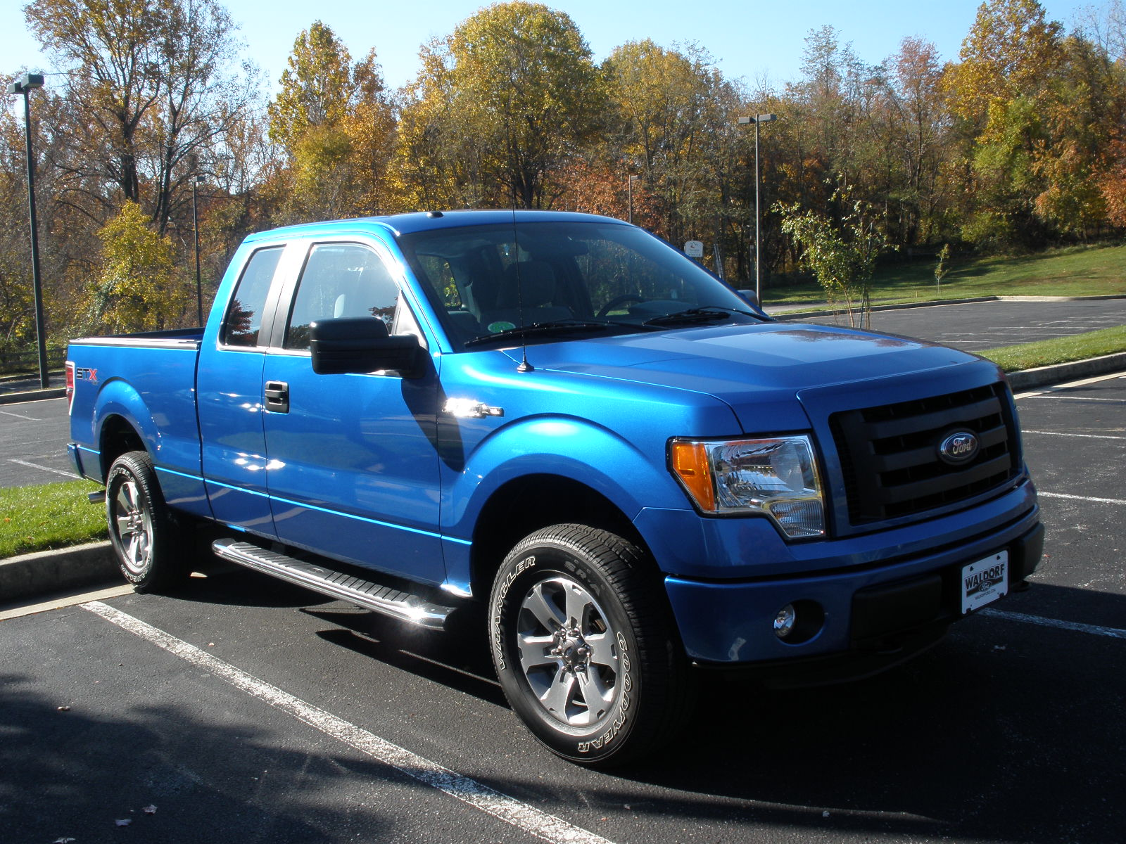 We Traded In Our Yellow Fj Toyota Cruiser For A Blue Ford