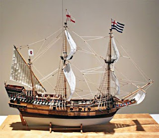 Golden Hind Model (SAFR 22687)