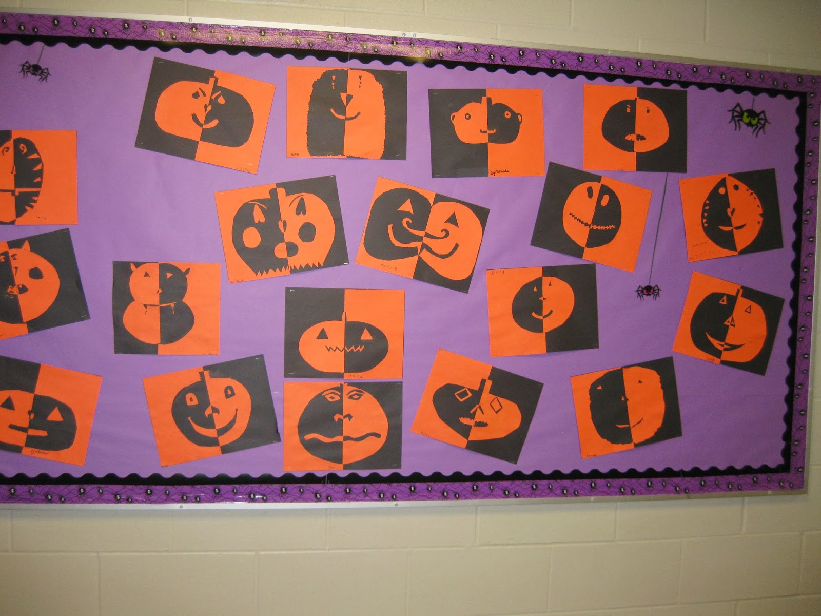 Terri 39 s teaching treasures positive negative halloween for Arts and crafts for 9 12 year olds