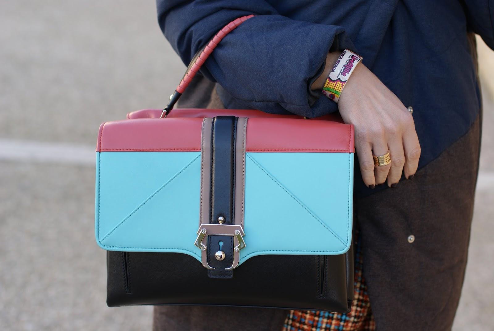 Millelire POP bracelet Paula Cademartori Faye bag on Fashion and Cookies fashion blog, fashion blogger style