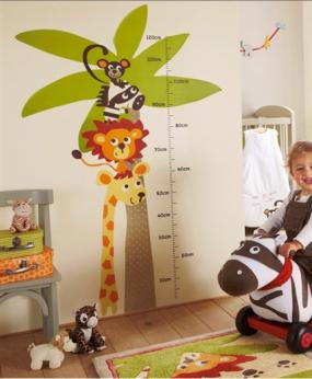 Pegatinas para la habitaci n del bebe y ni os decora for Pegatinas decoracion bebe