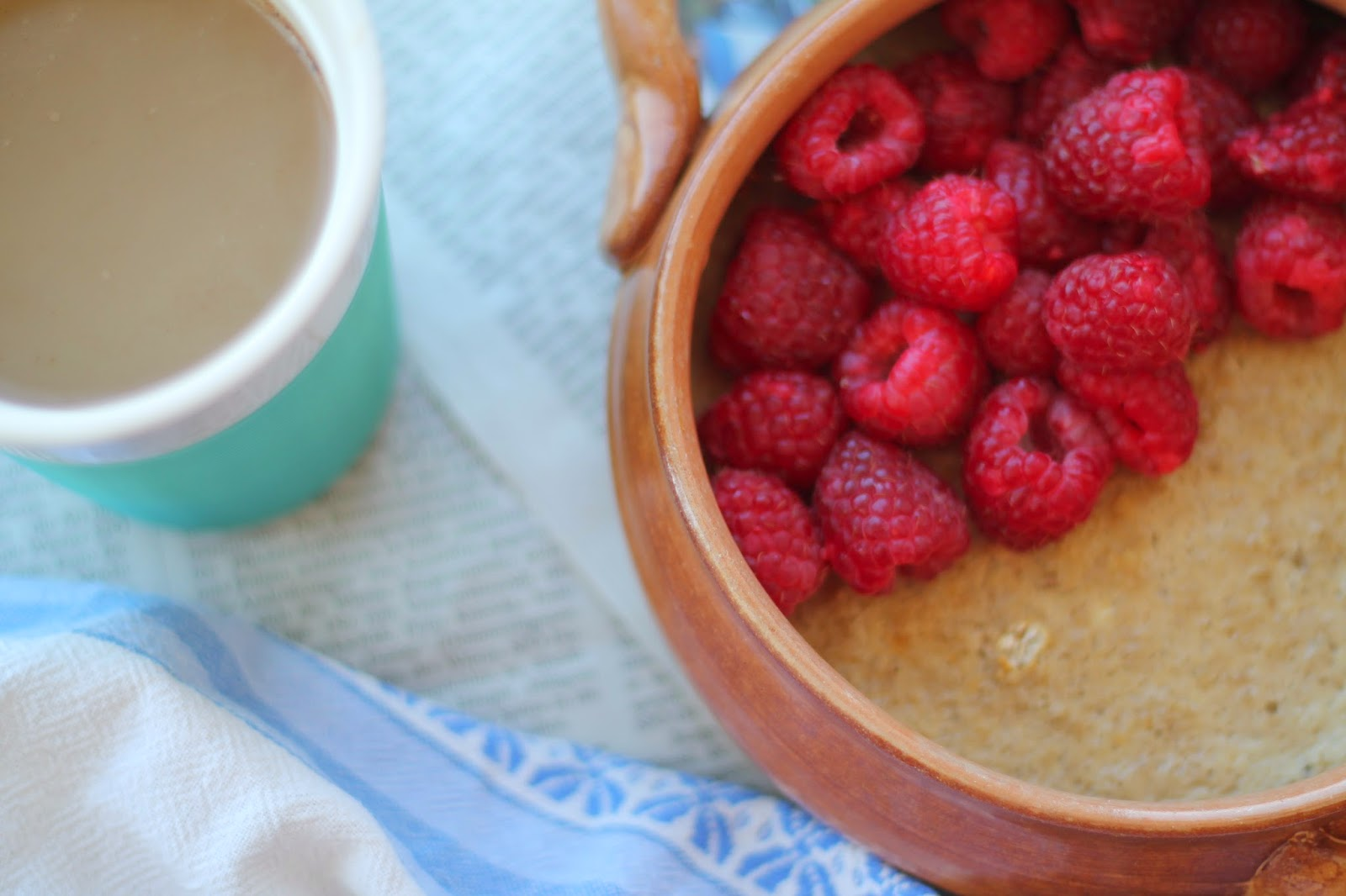 Baked Oatmeal Rezept Recipe / Clean Eating / #svetlanakocht