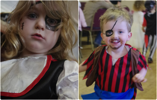 Pirate Birthday Party face painting