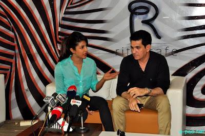 Priyanka Chopra during a Press Meet in Imphal10