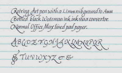 Practice Handwriting