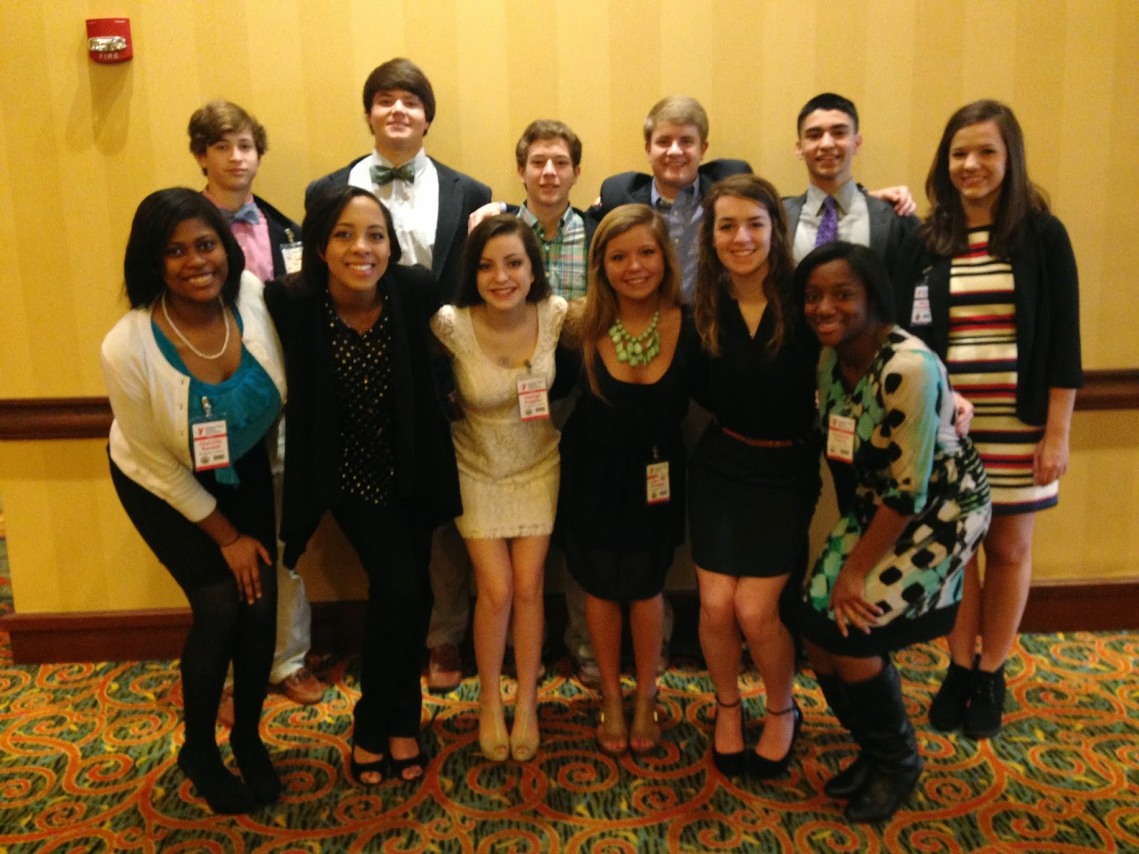 Montgomery Catholic Students Successful at 2015 Youth Legislature Conference 1